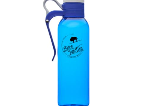 Biker Water Bottle - Blue - 24 oz