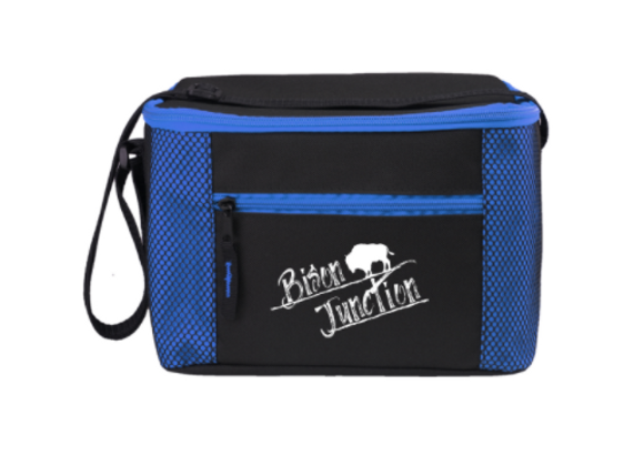 Lunch Bag - Blue Insulated - Bison Junction