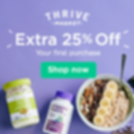 25 off First Purchase at Thrive Market