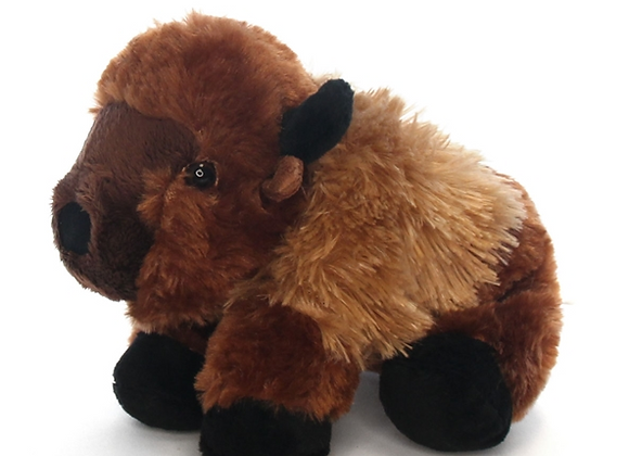 Lucky - The Stuffed Bison