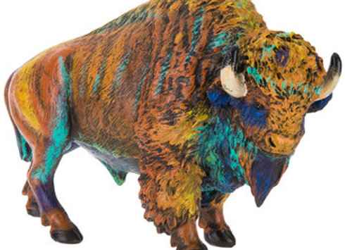 Bison - Multi-colored Decor
