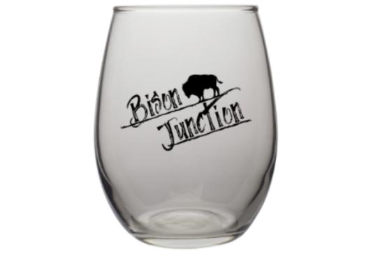Wine Glass - 9 oz - Smoke - Bison Junction