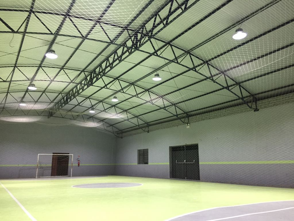 Quadra de Futsal - Iluminação