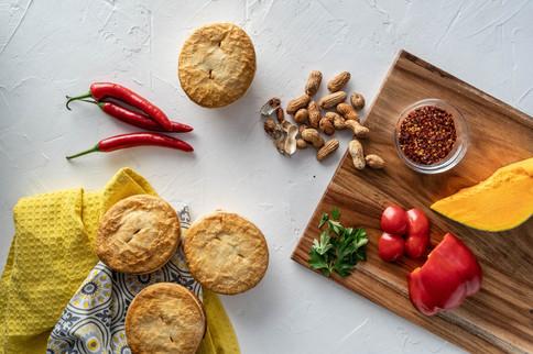 Chicken Satay Pie of the Week