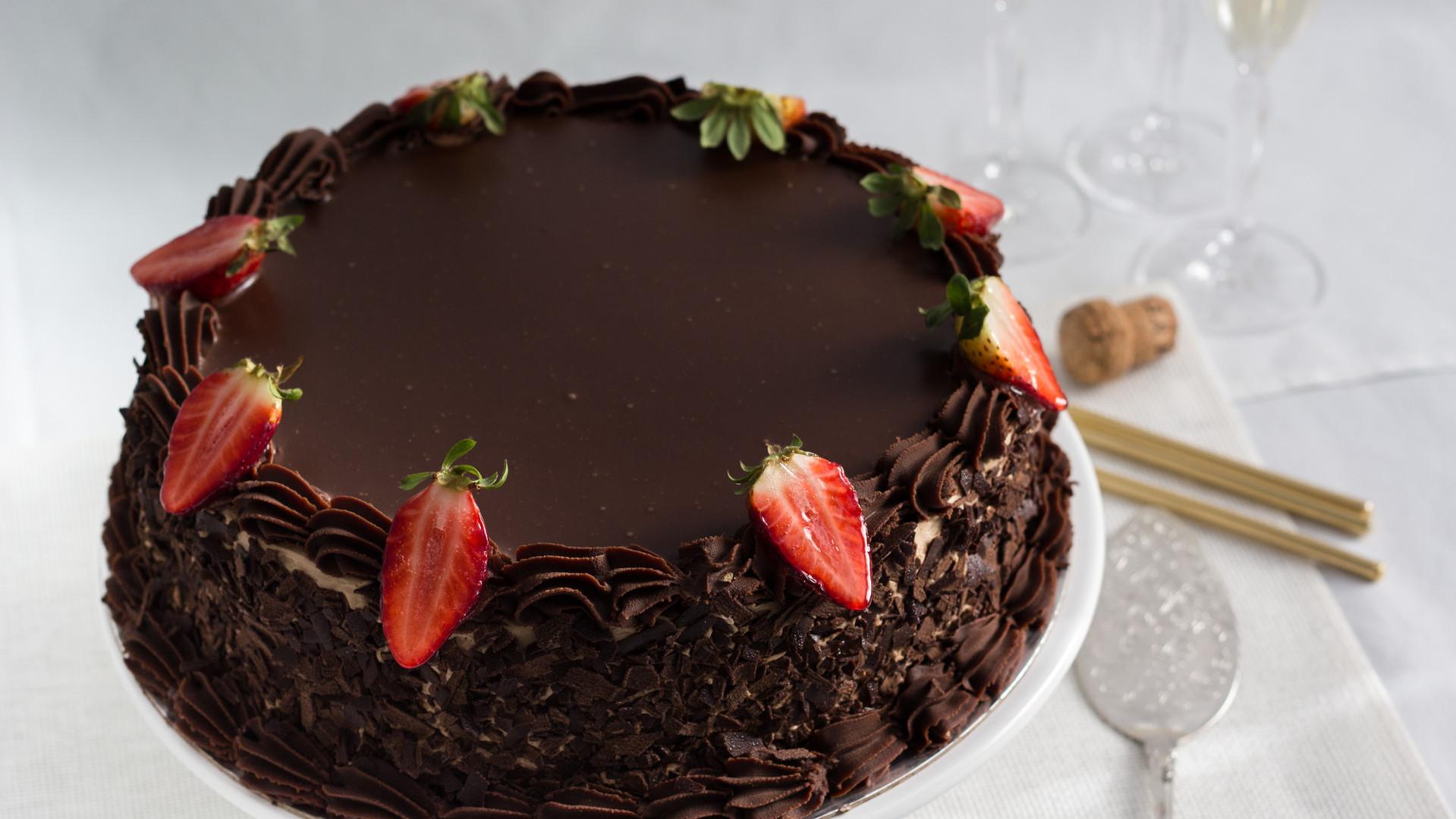 Chocolate Ganache Torte Birthday Cakes