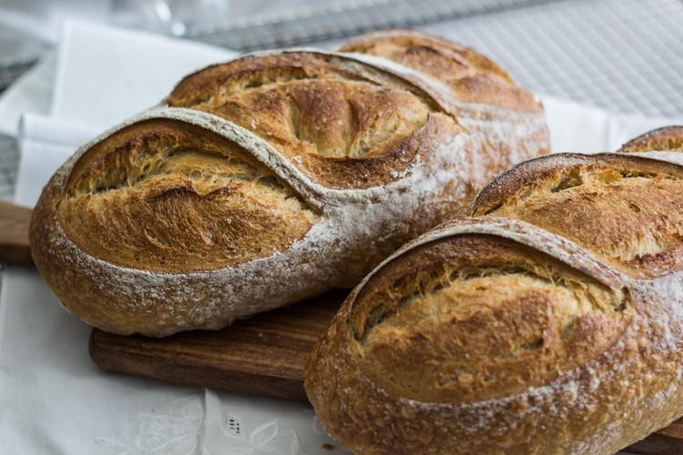 Bread Organic Sour Dough Loaf Miami Bake