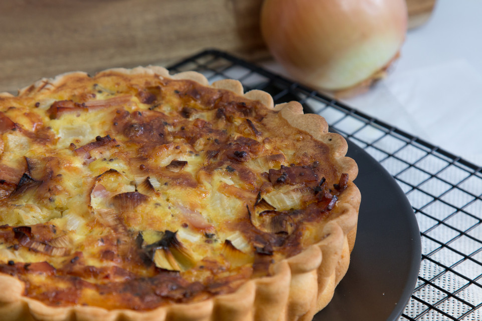 Chicken, Leek & Brie Quiche