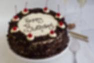 Chocolate Black Forest Birthday Cake
