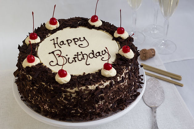 Bakery Cake Maker Birthday Cake Mandurah Melville Pinjarra Myalup Falcon Chocolate Black Forest Birthday Cake