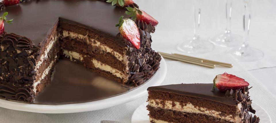 Custom Chocolate Birthday Cakes