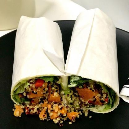 Vegan Wrap Lunch Miami Bakehouse Western Australia
