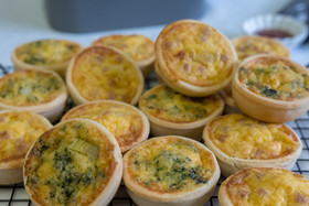 Party Pies and Party Quiches