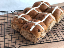 Fruit Hot Cross Buns Perth
