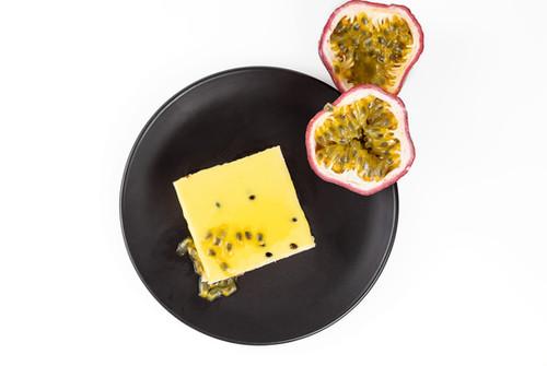 Passion Fruit Slice