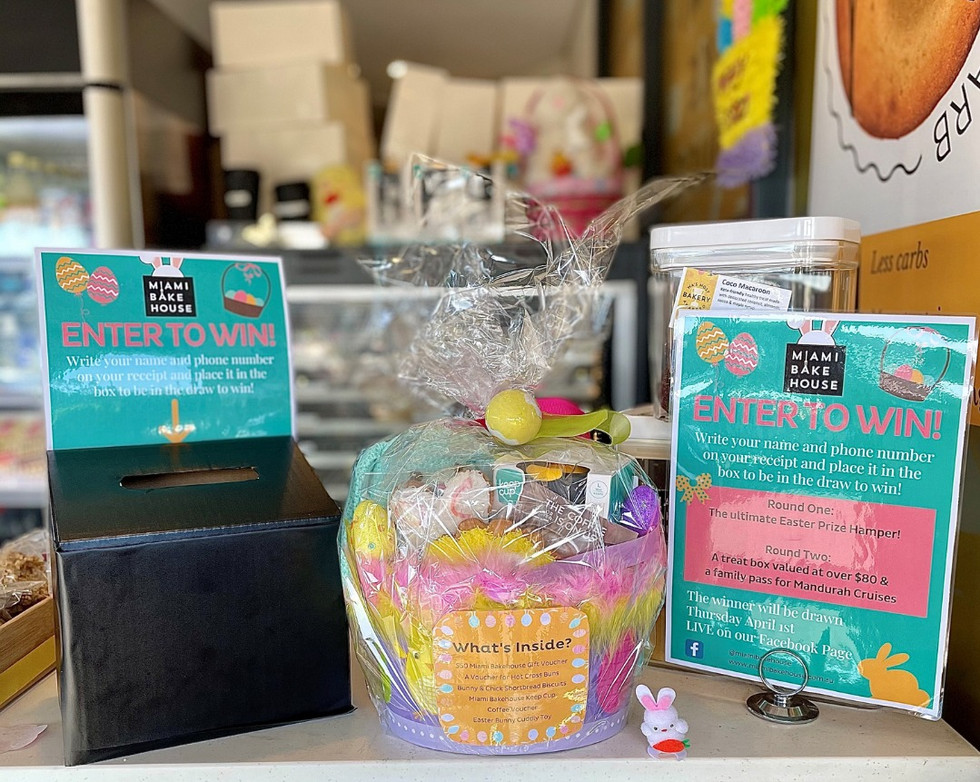Easter Prize Raffle