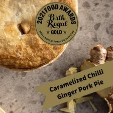 Caramelised Chilli Ginger Pork Pie