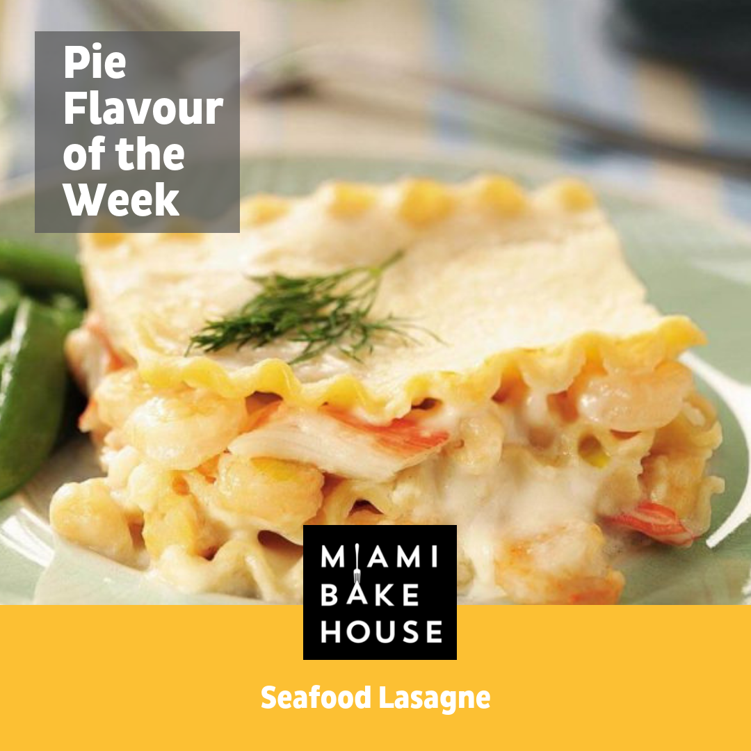 Pie of the Week - Seafood Lasagne