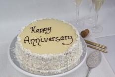 Order anniversary celebration cake
