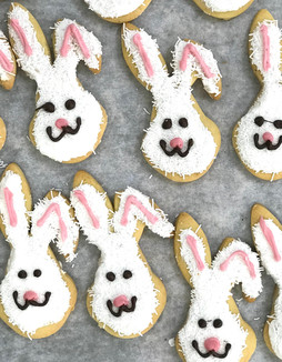 Easter Rabbit Biscuits