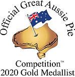 Great Aussie Pie Awards Logo AA-Gold Pie