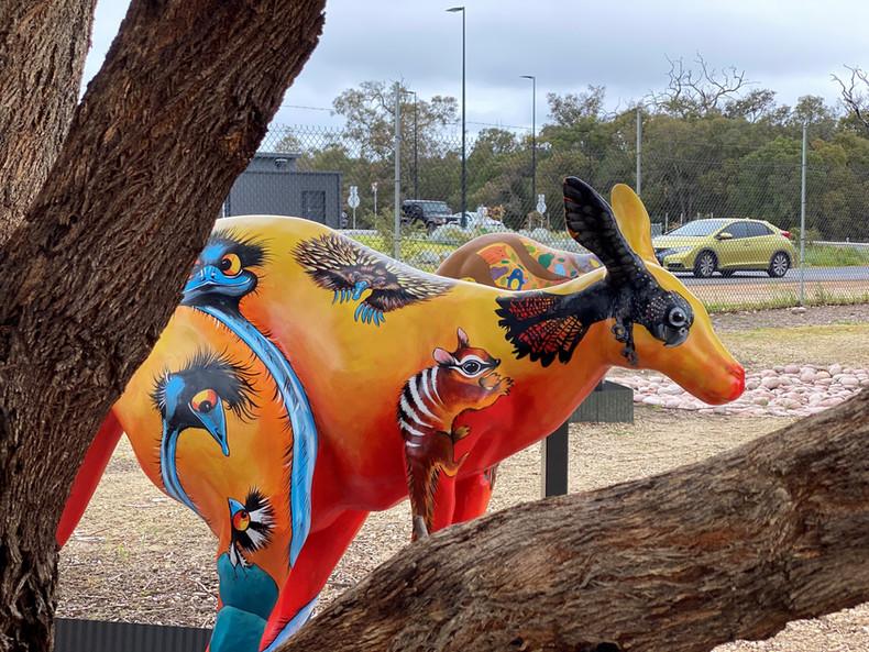 Wendy Binks Miami Bakehouse KangaART Myalup. Western Australia.
