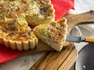 savoury pie large family quiche Miami Ba