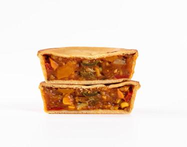 Peri Peri Vegetable Low Carb Pie
