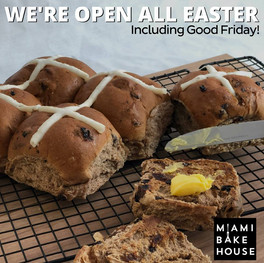 Hot Cross Buns from Miami Bakehouse Perth