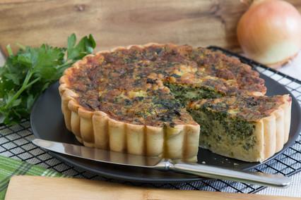 Handmade Spinach Quiche recipe Miami Bakehouse