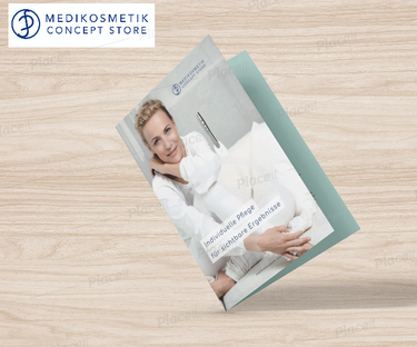 Broschüren Design & Konzeption Medikosmetik