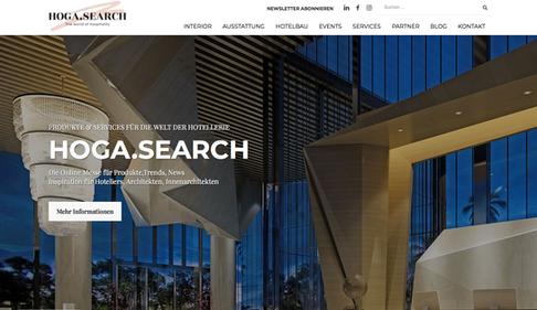Webdesign Hogasearch & SEO Integration
