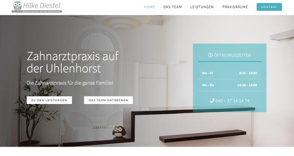 Logo & Webdesign Zahnarztpraxis