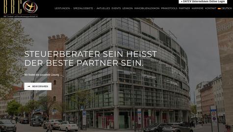BBC Treuhand- und Steuerberatungsgesellschaft AG Webdesign & Logo Design