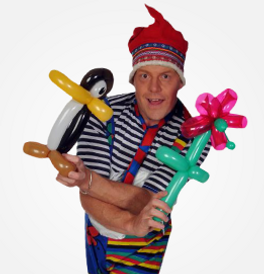 Mr Fundoo childrens entertainer kids parties ballons