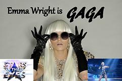 Emma Wright Lady Gaga tribute act