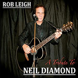 Neila Diamond tribute act Rob Leigh