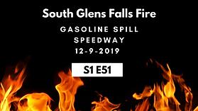 S1E51 South Glens Falls Fire - Speedway.