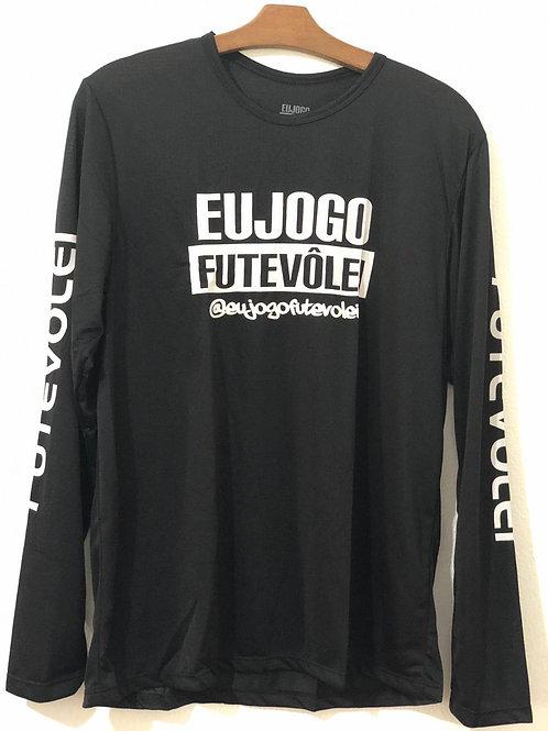 Camisa Manga Longa UV Eu Jogo Futevôlei