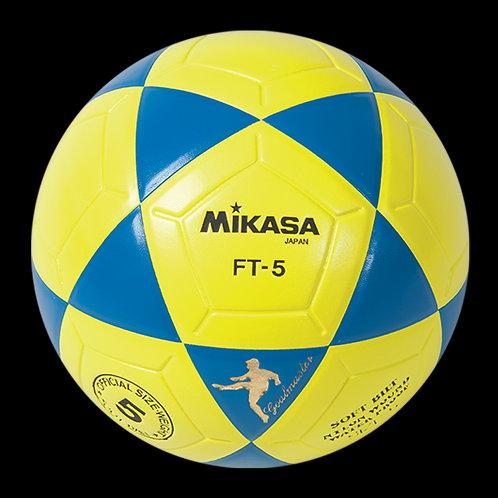 Bola de Futevôlei Mikasa FT5 Amarela e Azul