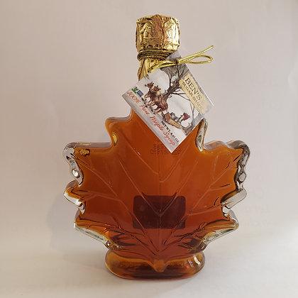 Maple Syrup - Large Leaf Bottle  8.45oz