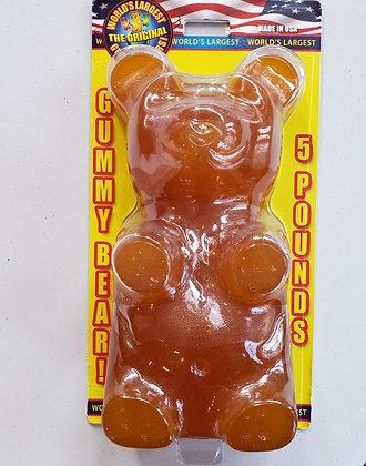5 lb. Giant Gummy Bear! - Lemon