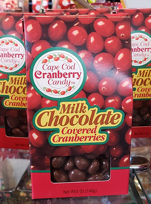 Milk Chocolate Covered Cranberries /EA