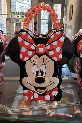 Large Disney Minnie Mouse Tin / Each