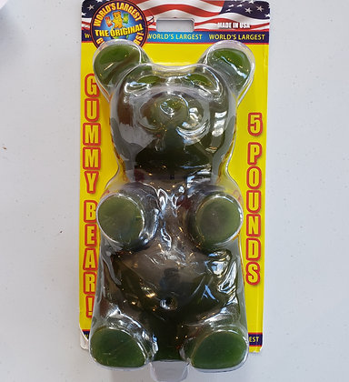 5 lb. Giant Gummy Bear! - Lime