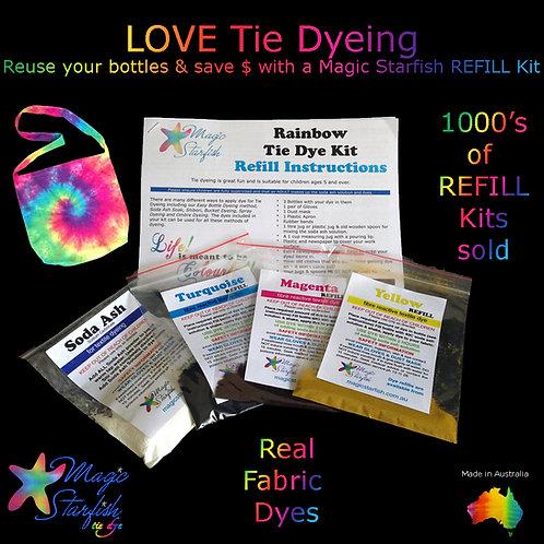 Rainbow Tie Dye Kit TRIPLE REFILL