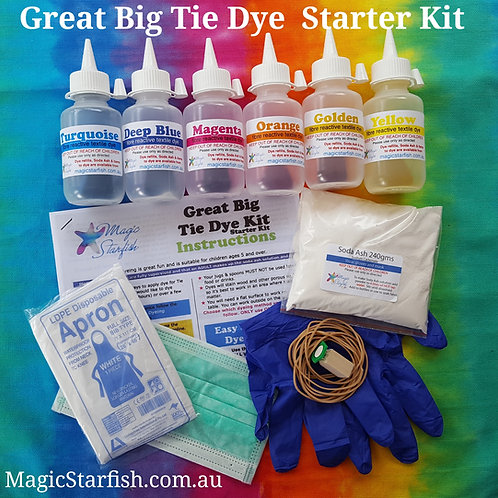 Great Big Tie Dye STARTER Kit
