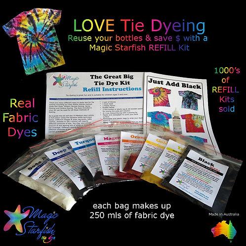 Great Big Tie Dye Kit + Black REFILL
