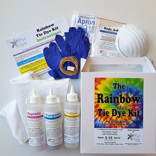 Rainbow Tie Dye Holiday Kit