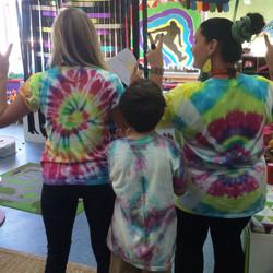 Tie Dyeing at OSHC