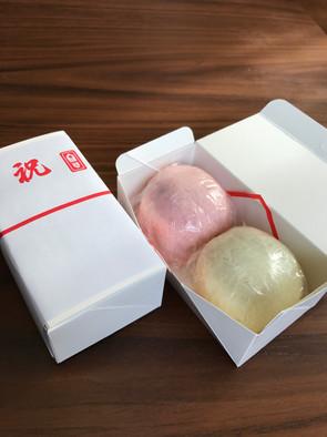 紅白饅頭(注文製造)